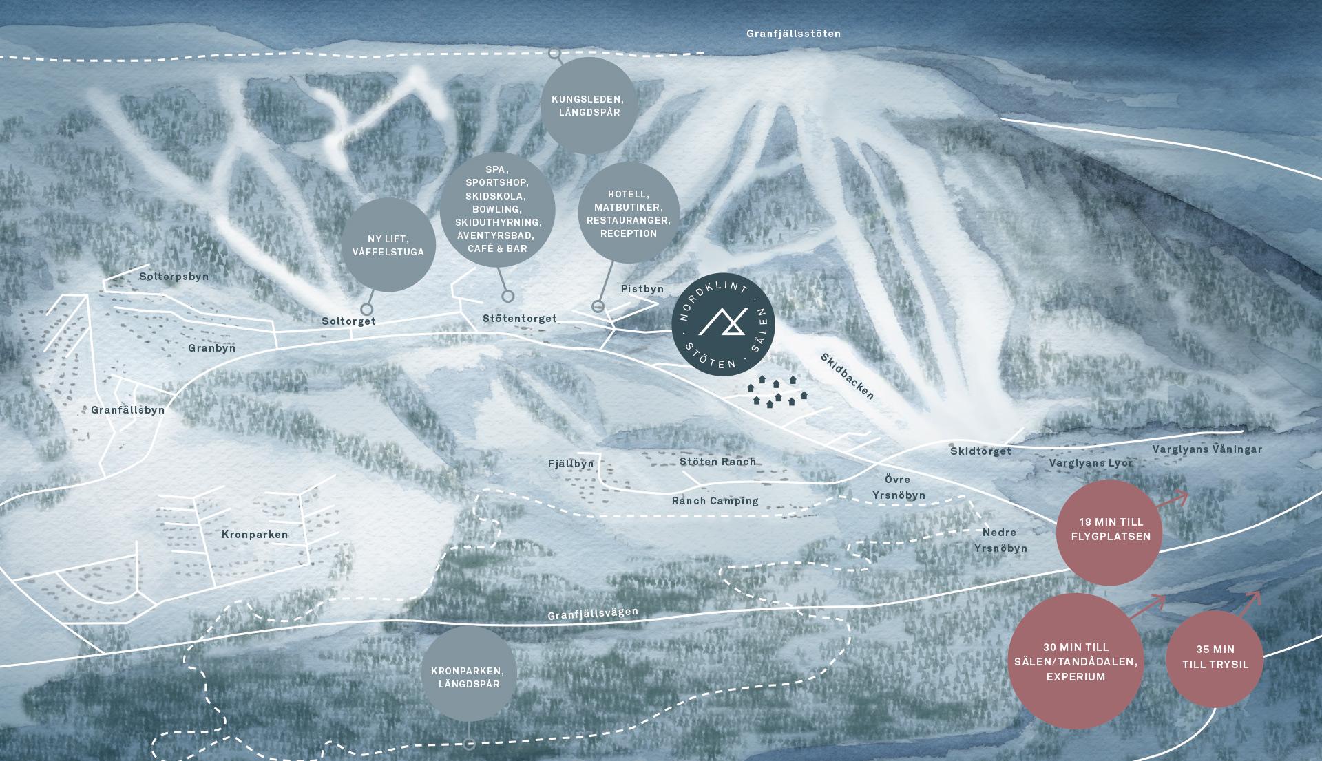 Nordklint Karta